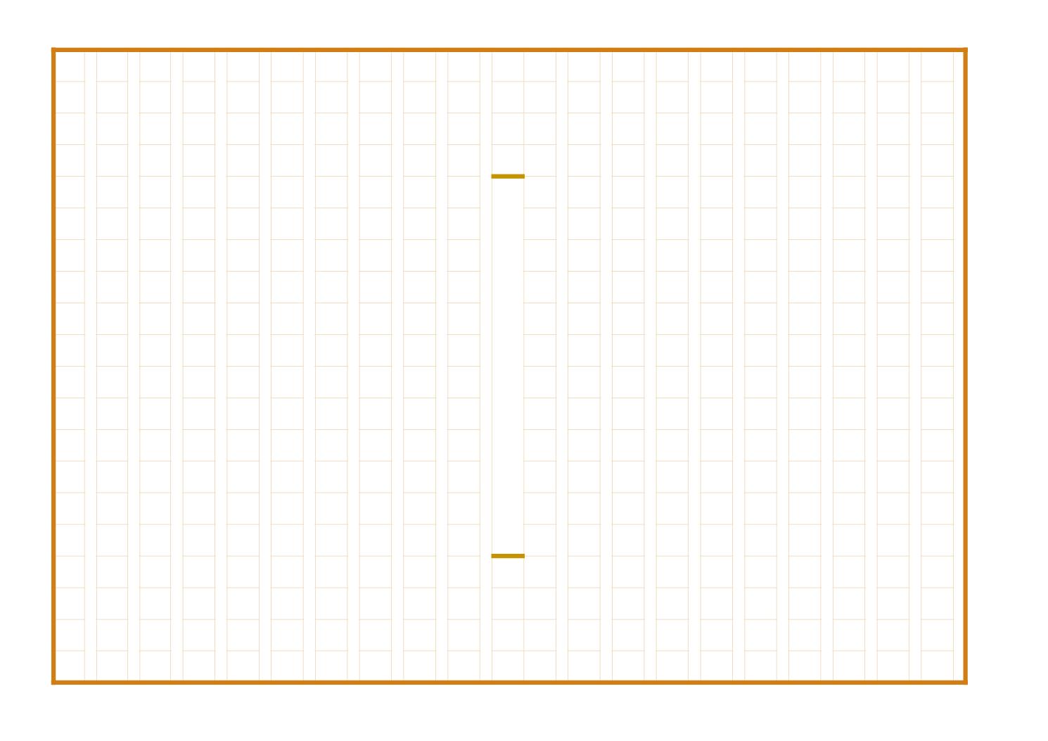 原稿用紙の無料テンプレート『まとめ』標準400字(エクセル・ナンバーズ)